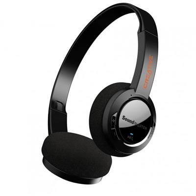 Auriculares Creative Sound Blaster JAM V2 inalámbricos Bluetooth negros