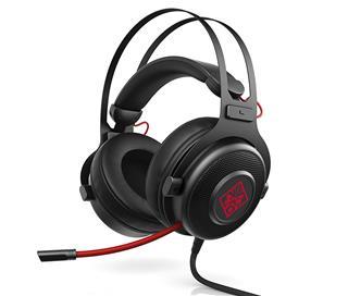 Auriculares Gaming HP OMEN 800 negro y rojo