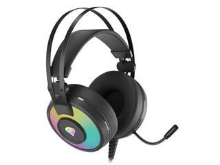 Auriculares Genesis Neon 600 gaming RGB con cable ...
