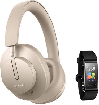 Auriculares Huawei Freebuds Studio Blush Gold inalámbricos con micrófono
