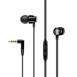 Auriculares internos Sennheiser CX 300S con cable con micrófono negro