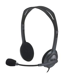 Auriculares Logitech Stereo Headset H111
