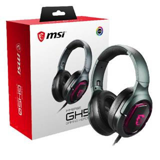 Auriculares extenos MSI Inmerse GH50 gaming ...