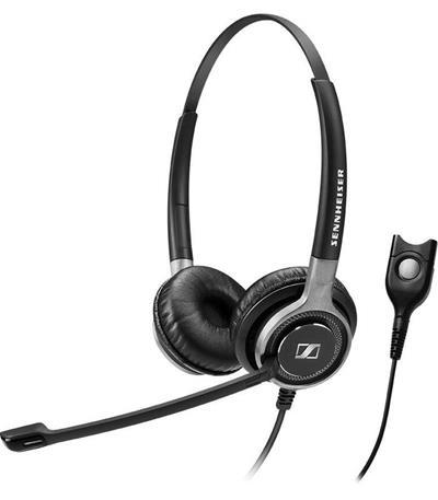 Auriculares Sennheiser SC 662 con cable con micrófono