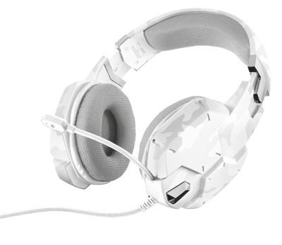 AURICULARES TRUST GAMING GXT 322 CARUS SNOW ...