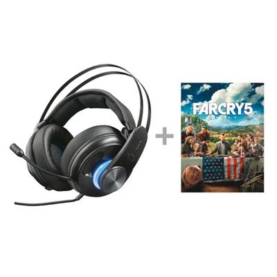 AURICULARES TRUST GAMING GXT 383 DION 7.1 SONIDO ...