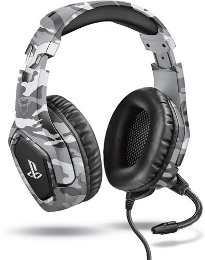 Auriculares Trust GXT 488 Forze PS4 con cable con ...