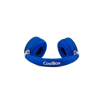 AURICULARES COOLBOX COOLSKIN AZUL