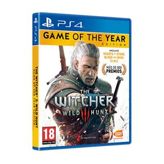BANDAI JUEGO SONY PS4 THE WITCHER 3: WILD HUNT GOTY