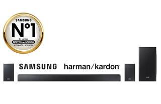 Barra de sonido Samsung HW-Q90R/ZF Hatman Kardon ...