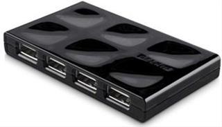 Belkin 7 Port USB Hub 2.0 Mobile Black