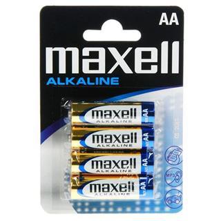 PILA MAXELL LR06 AA MN1500 ALKALINE 4UNIDADES