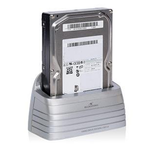 """Bluestork BS-EHD-DOCK/30 HDD/SSD enclosure 2.5/3.5"""" Plata recint"""