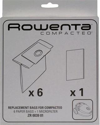 Bolsas para aspiradoras Rowenta Compacteo