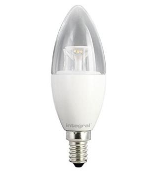 BOMBILLA LED INTEGRAL CANDLE E14 6.5W 2700K