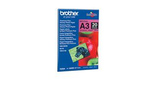 BROTHER BP61GLA GLOSSY PAPER            A3 - 20 SHEE