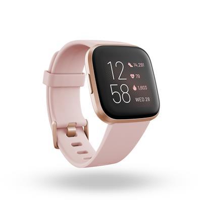 Bracelets  Smartwatch Fitbit Versa 2 Petal/Copper ...
