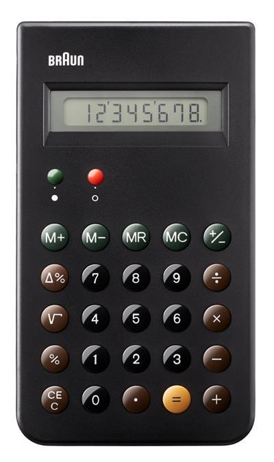 Braun BNE 001 BK calculadora