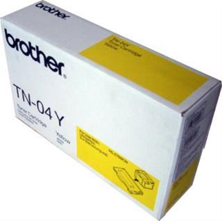Tóner amarillo Brother TN-04Y