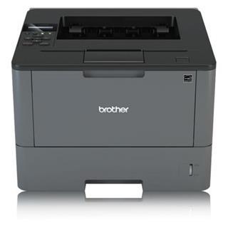Impresora láser monocromo Brother HLL5000D/NON 128B 40PPM R/V A4