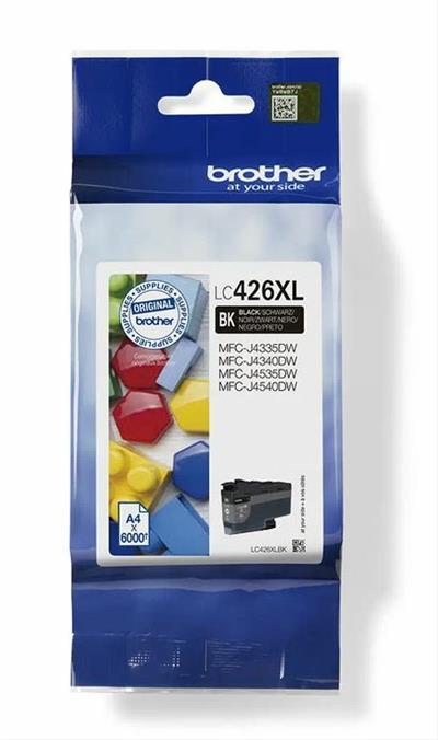 CARTUCHO TINTA BROTHER LC426XL BLACK MFCJ4540DW  MFCJ4340DW