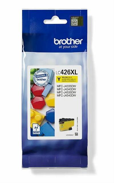 CARTUCHO TINTA BROTHER LC426XL AMARILO  MFCJ4540DW  MFCJ4340DW
