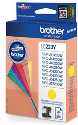 CARTUCHO TINTA BROTHER LC223 YELLOW