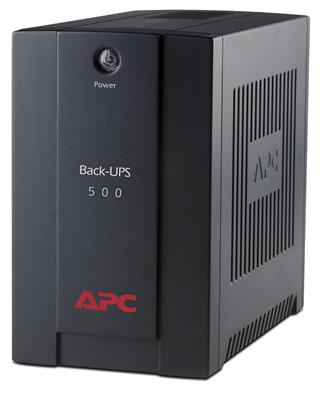 APC BACK-UPS 500VA.AVR.IEC OUTLETS EU MEDIUM