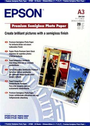 Papel Epson Fotográfico Semibrillo (Premium  ...
