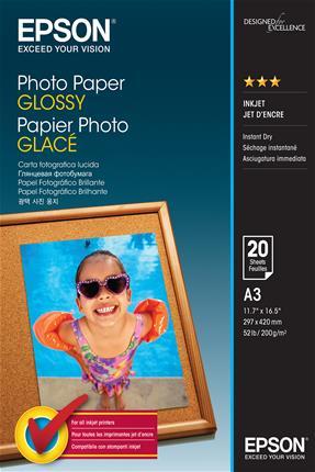Papel de Foto EPSON GLOSSY