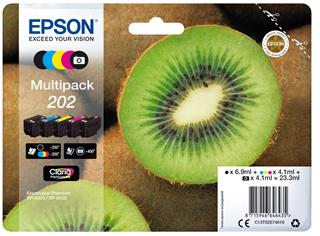 Tinta epson 202 color multipack