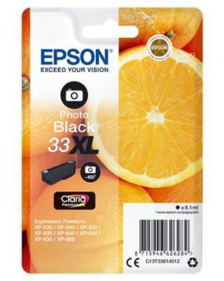 CARTUCHO DE TINTA EPSON 33XL PHOTO NEGRO·