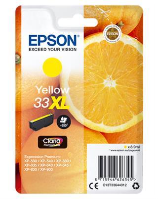 Tinta epson claria 33xl amarillo