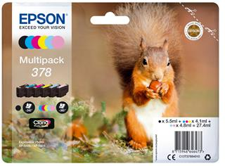 Epson ink378 squirrel clcmlmyk