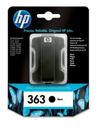 HP 363 Ink Cart/black 6ml