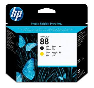 HP No 88 Printhead/black+yellow