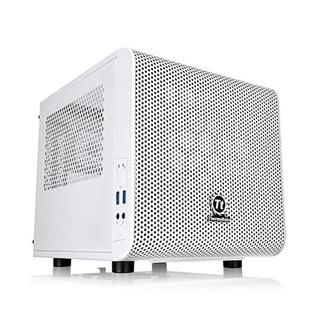 Minitorre Thermaltake Core V1 Snow Edition USB 3.0 blanca