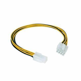 CABLE ALIM. 4PIN/H-4+4PIN/M 15CM NANOCABLE