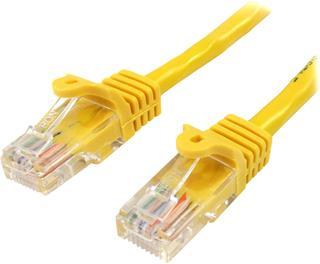 Cable de red Startech 45PAT3MYL 3m amarillo Cat 5E Snagle