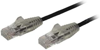 Cable de red Startech Cat6 1m blanco slim snagless