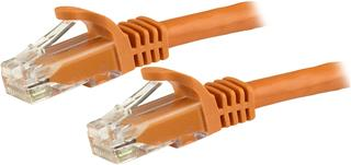 Cable de red Startech N6PATC150CMOR Cat6 1.5m naranja snagless 24 AWG copper
