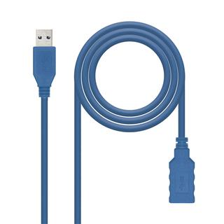 Cable usb 30 amah 2m azul nanocable