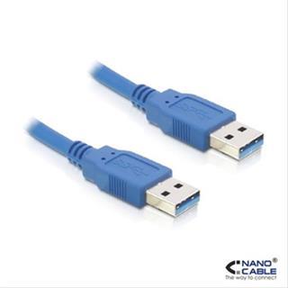CABLE USB 3.0 A/M-A/M 1M AZUL NANOCABLE