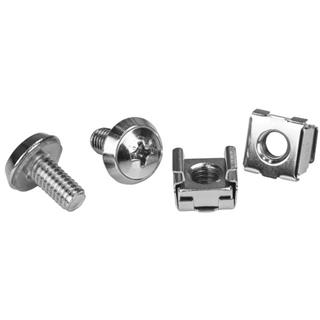 Pack 100 tornillos y tuercas Startech CABSCREWM62 ...