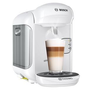 Cafetera Bosch Tassimo Vivy multibebida blanca