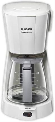 Cafetera goteo Bosch Tka3a031 1100W 1.25L blanca