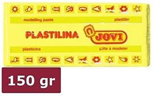 CAJA 15 PASTILLAS PLASTILINA 150 G - AMARILLO JOVI
