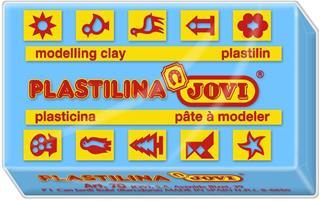 CAJA 15 PASTILLAS PLASTILINA 150 G - AZUL CLARO ...