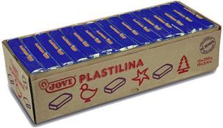 CAJA 15 PASTILLAS PLASTILINA 350 G - AZUL OSCURO ...