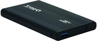 "CAJA EXTERNA 2.5"" SATA TOOQ NEGRA USB 3.0 9,5 MM ..."
